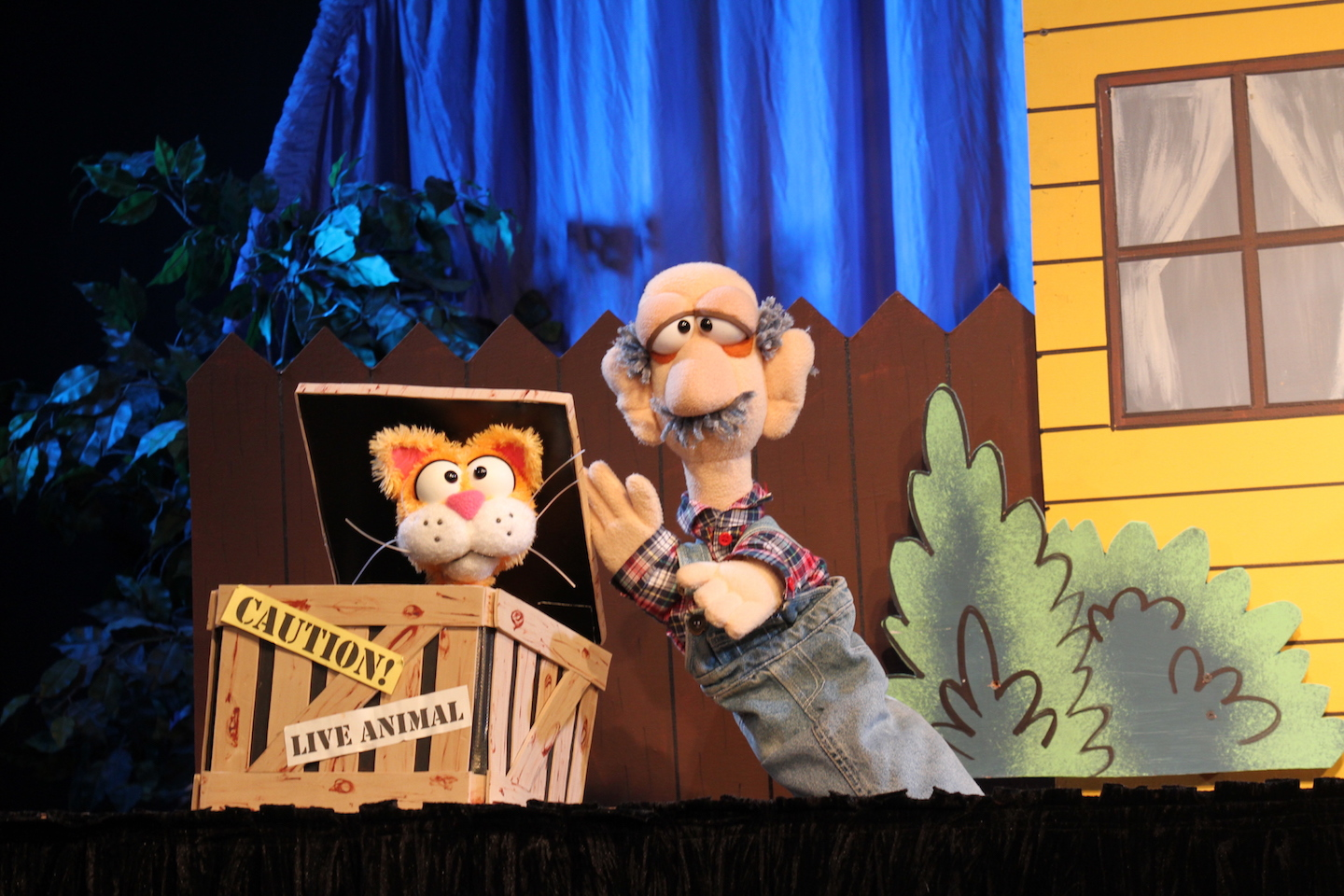 "Guest Artist Mesner Puppet Theater Presents: ""The Cat Came Back"""